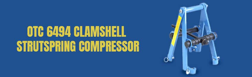 The Otc 6494 Clamshell Coil Spring Compressor